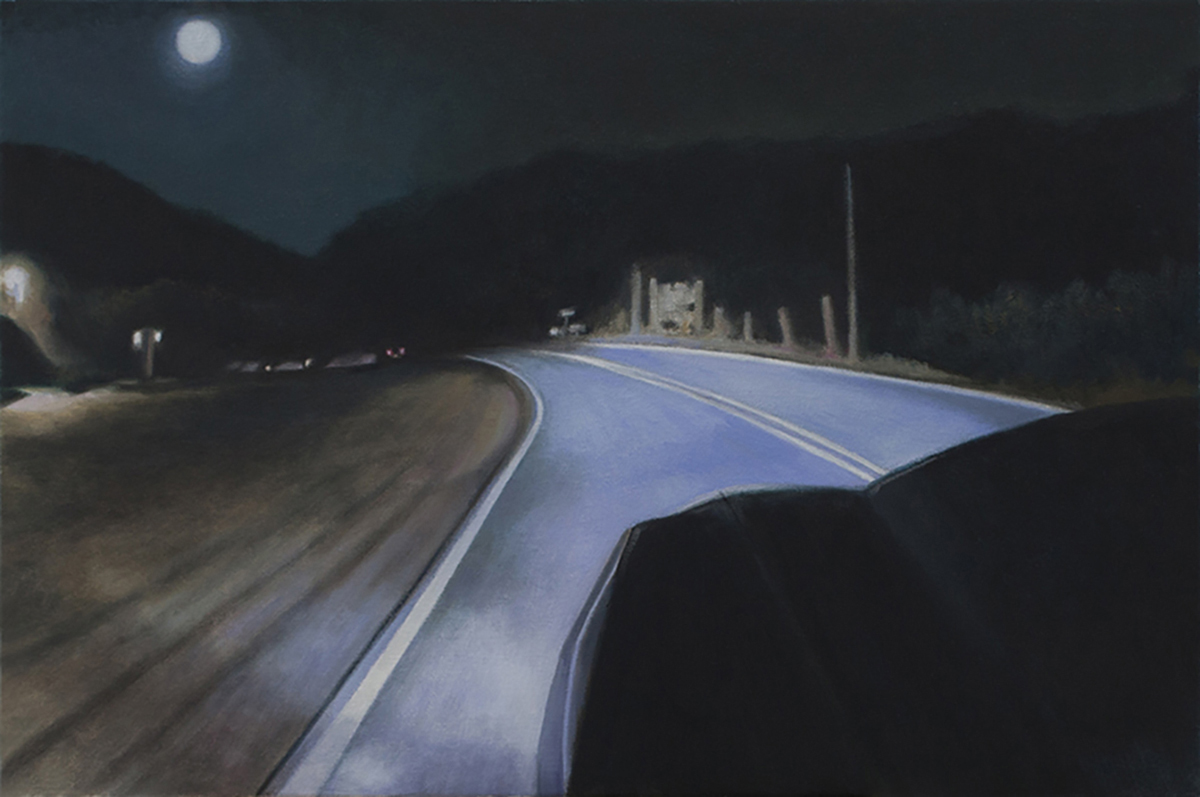 Night Road and the Moon
